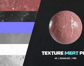 3D model Texture Raw Meat 4k Pbr - 16bit - 03