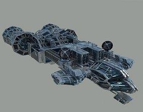 3D model Command Space Ship 1