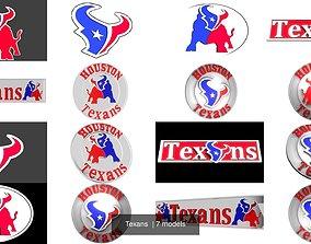 3D model Texans