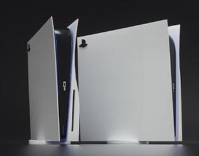 PlayStation 5 3D model computer