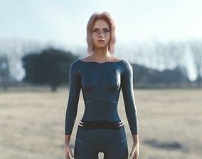 3D model Jennifer