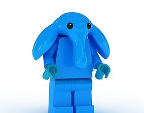 LEGO Minfigure Max Rebo 3D model