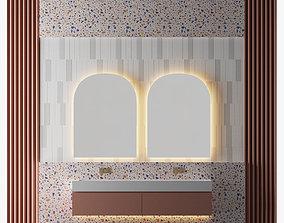 3D model House Mountain Bathroom