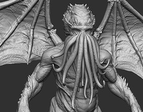 Cthulhu 3d print stl file THE SHORE games-toys