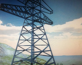 3D Transmission Tower