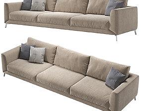 3D model Fargo sofa Boconcept two sofas