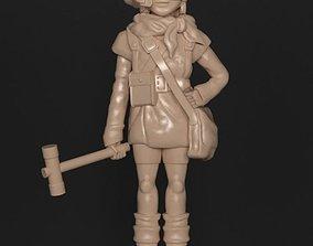 LUCCA CHRONO TRIGGER HAMMER 3D printable model