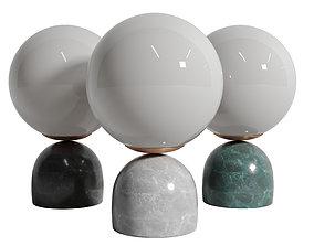 3D asset Orb Shaped Mini Night Light Designer Opal Glass