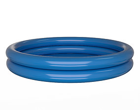 3D model Inflatable Two Ring Pool