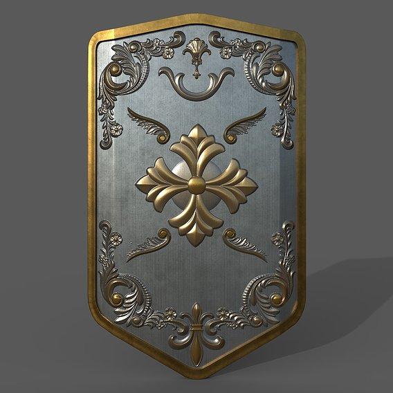 Medieval Battle Shield