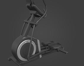 Elliptical trainer-Exercise Equipment-04 fitness 3D