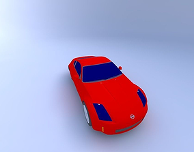 3D 2002 Nissan 350z
