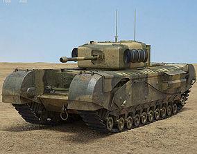 3D model Churchill Mk IV