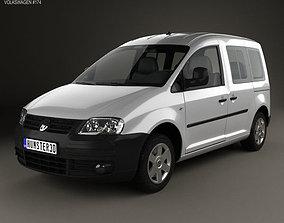 3D model Volkswagen Caddy 2004