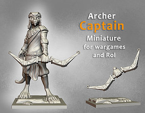 3D print model Archer Captain