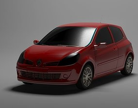 3D model realtime Renault Clio