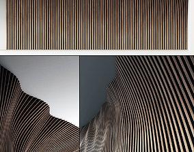 Parametric panel hall n1 3D