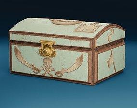 3D model Treasure chest Pirate