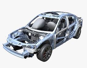 3D Car Frame 02