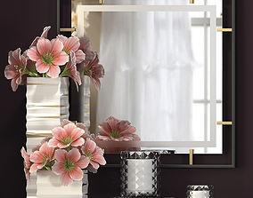3D model Decorative flower vase set 5