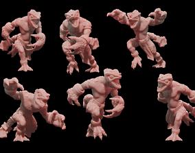 3D print model Lizardmen Chameleon