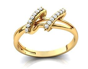 3D accessory fashion print Ring