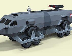 3D model Landmaster from Damnation Alley