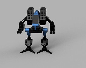 3D print model Mad Dog battletech
