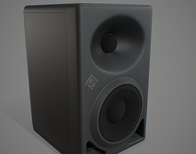 3D model Studio Monitor - 4K PBR