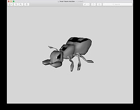 Mutant Ant 3D asset