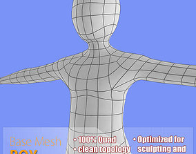 Boy Base Mash 3D asset