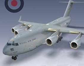 RAF C-17 Globemaster III 3D model