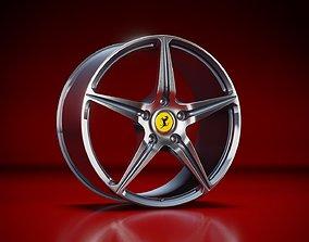 Ferrari 458 Italia OEM Rims 3D model