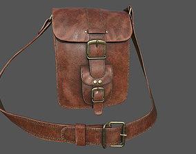 3D model realtime Leather Bag