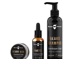 beard product 3D model