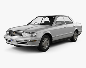 Toyota Crown 1993 3D model
