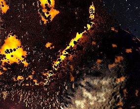 3D Shock of planet destruction ANIMATION