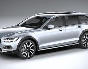 3D model Volvo V90 Cross Country 2020