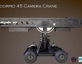 Scorpio 45 Camera Crane 3D model