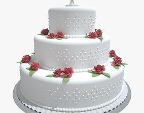 Wedding Cake 3 3D model