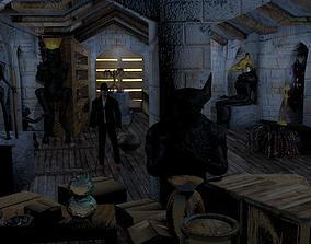 Indiana Jones Attic 3D model