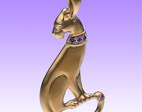 Pendant Panthera 3D printable model