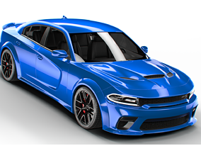 DODGE charger hellcat widebody 2020 3D