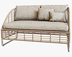 3D Season Sun Sofa