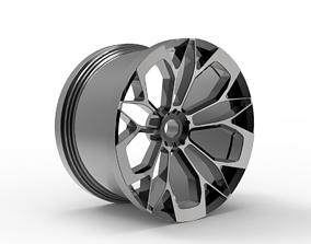 car rim design 3D print model