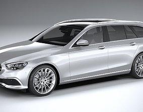 3D model Mercedes E-Class Estate 2021