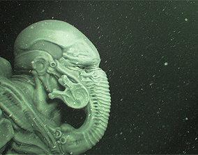 Giger Mask 3D print model
