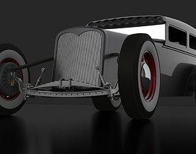 Electric Hot Rod Sedan 3D