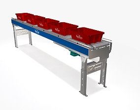 3D model Conveyor - Zipline RMPAC