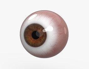 woman 3D model Human Eye